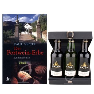 Der Portwein-Erbe- im Set mit 3x0,2 Ltr Calem Portwein Paul Grote
