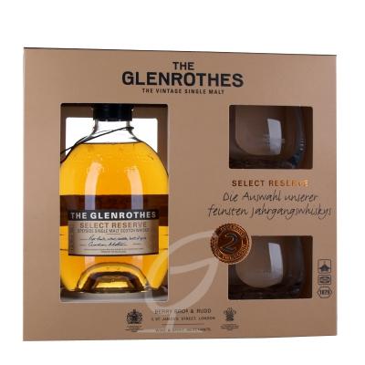 Glenrothes Selected Reserve Whisky inkl. 2 Gläser