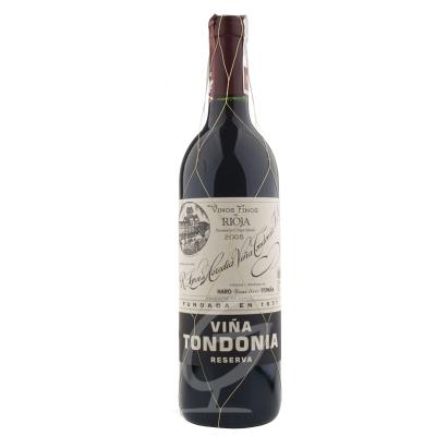 2005 Vina Tondonia Reserva Rioja Spanien