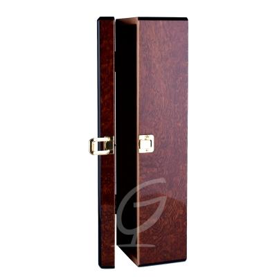 Luxury Wein Champagner Box Weinkiste Weinbox Flaschenbox Braun