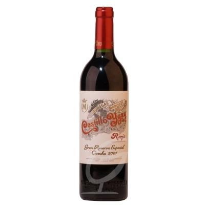 2001 Castillo Ygay Marques de Murrieta Rioja Spanien