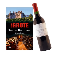 Tod in Bordeaux inkl. 0,7 Ltr Bordeaux Wein