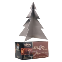 Ein Baum für alle Fälle - steckbar Edelstahl inkl. Schokoladentrüffel Cemoi