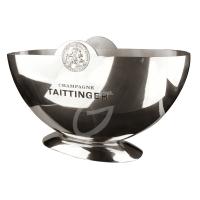 Champagner-Kühler von Taittinger Halbmondschale
