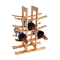 Weinregal Asia Bamboo von Zeller 12 Flaschen